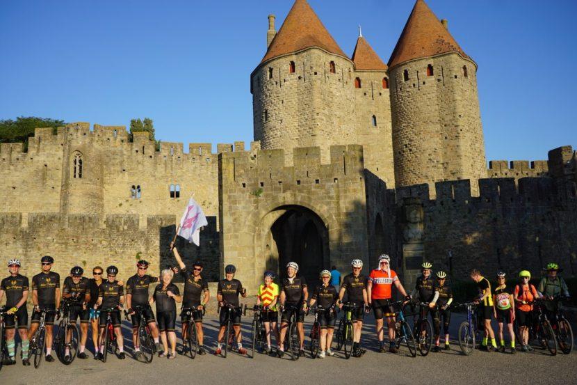 Hannibal Carcassonne Group Shot Bike Tour