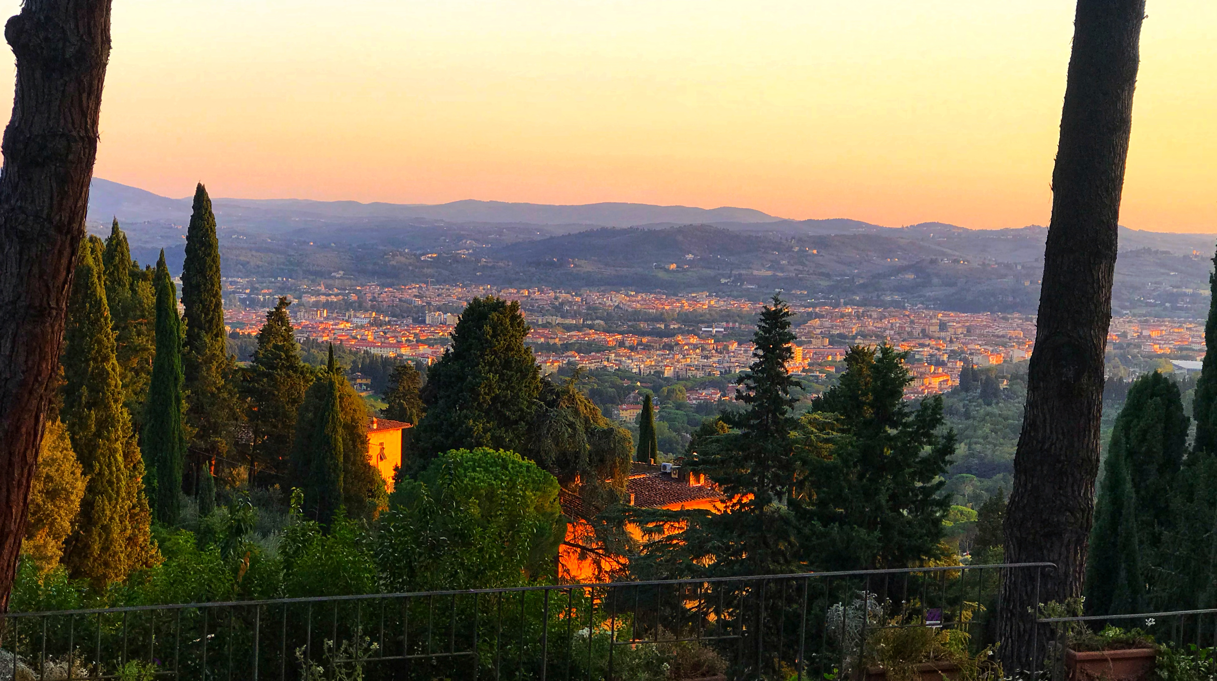 Florence view Hannibal bike tour