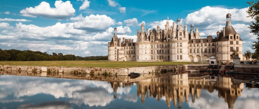 Chambord-Castle-lionheart bike tour