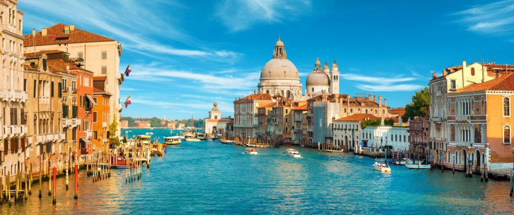 Venice in the morning - Bike Odyssey Cycle Tours