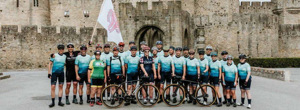 bike tour group carcassonne