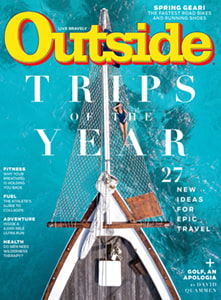 OUtside Magazine Trips of the Year 2020