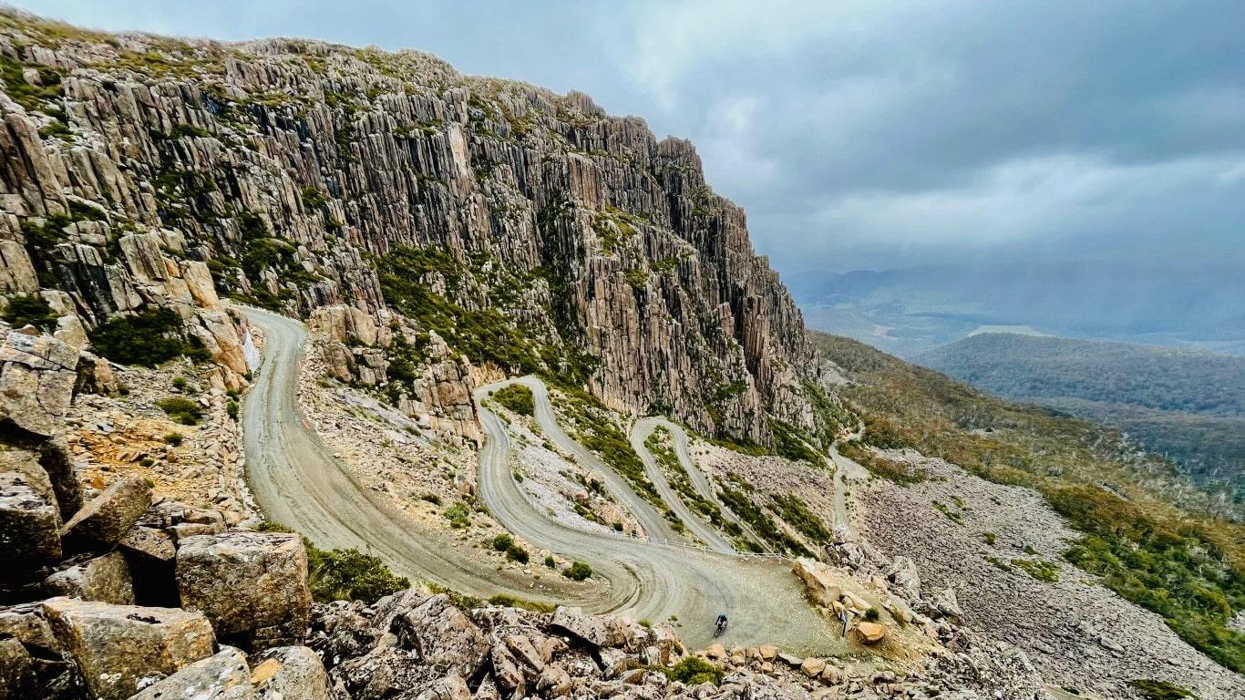 Jacobs Ladder Bicycle Climb Tasmania